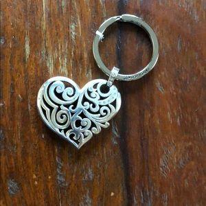 Brighton heart key chain